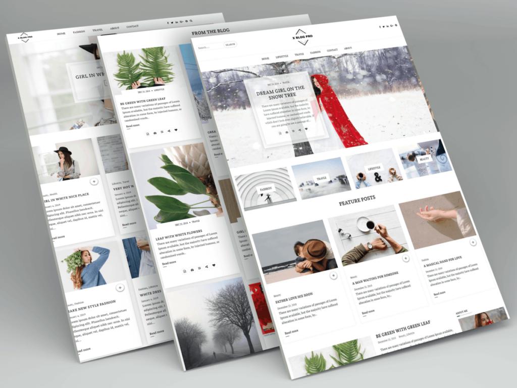 Xblog WordPress theme