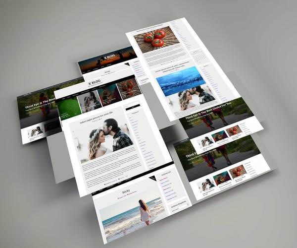 X Blog Pure WordPress Blog Theme