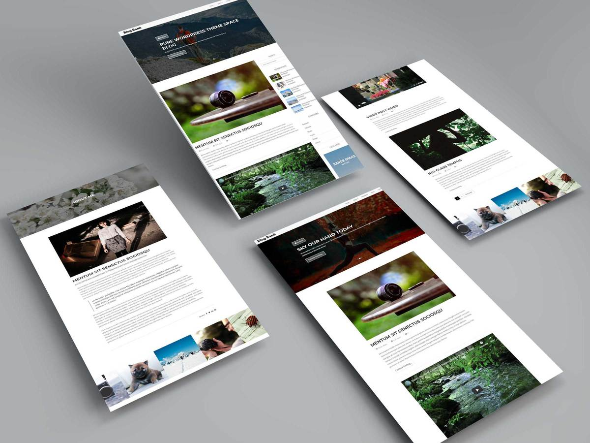 Multi Concept WordPress Blog Theme