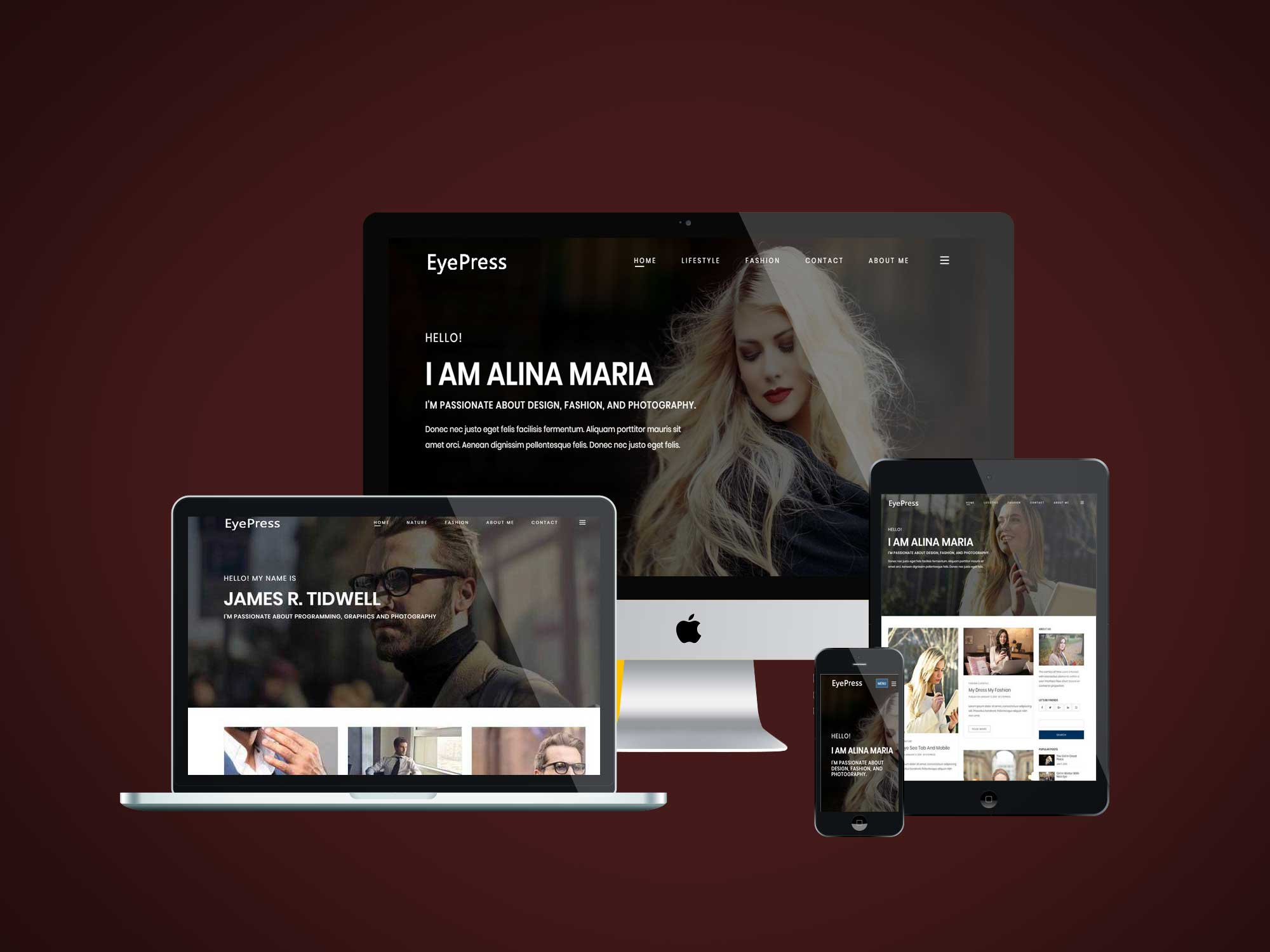 EyePress WordPress Theme