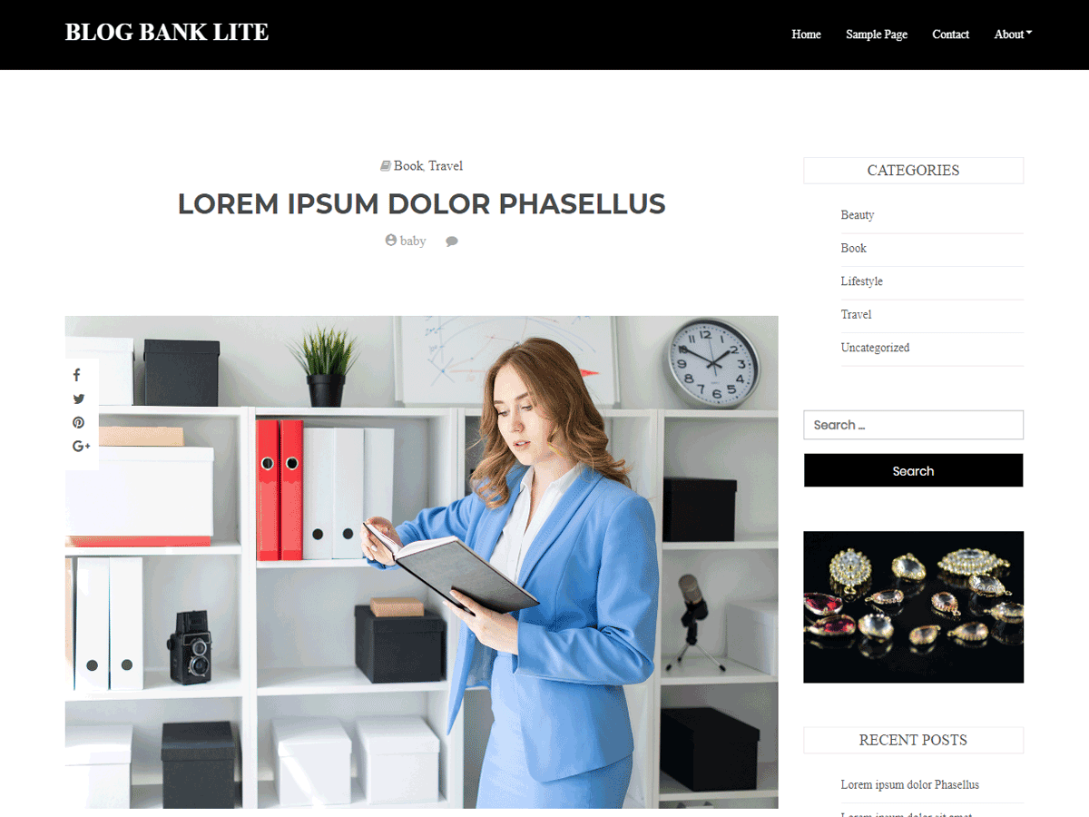 Blog Bank lite